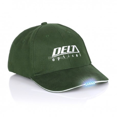 Delta Optical cap with LED