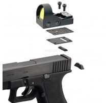 MiniDot HD laikiklis skirtas Beretta 92 Taikiklių montavimui Delta Optical